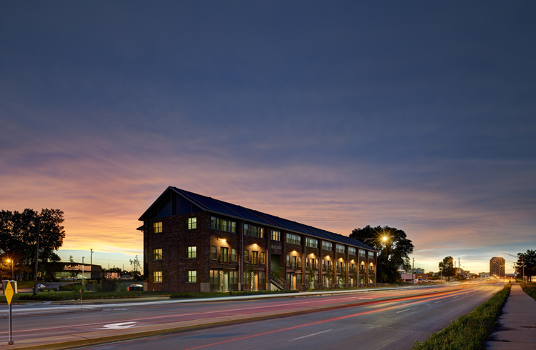 2015 Priester Building 1000 Friends Of Iowa 2014 Best Development Award New Residential