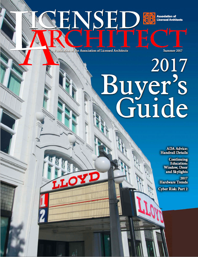 2017. Licensed Architect: ...